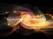 Wave Particle — Stock Photo