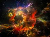 Virtual Universe — Stock Photo