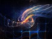 синергизм пространства — Стоковое фото