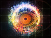 Eye Particle — Stock Photo