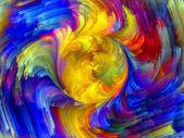 Explosão colorida — Fotografia Stock