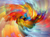 Acceleration of Color — Stock Photo