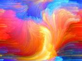 Propagation of Color — Stock Photo