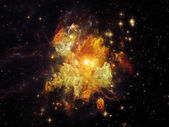 Nebula Particles — Stock Photo