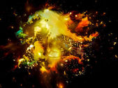 Nebula Burst — Stock Photo