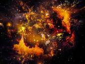 Textura nebulosa — Foto de Stock