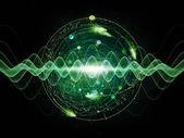 Energy of Atom — Stock Photo