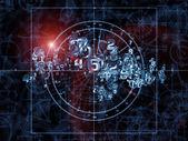 Toward Digital Geometry — Stock Photo