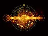 原子 — 图库照片