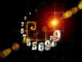 Sinergias de la geometría — Foto de Stock
