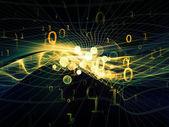Virtuele fractal rijken — Stockfoto
