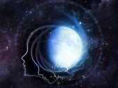 Lunar Geometry — Stock Photo