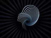 Paradigm of Soul Geometry — Stock Photo