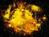 Nebula Background — Stock Photo