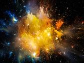 Nebula Colors — Stock Photo
