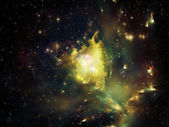 Virtual Nebula — Stock Photo