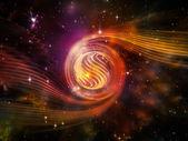 Nebula Vortex — Stock Photo