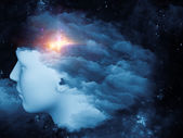 Mind Cloud — Stock Photo