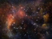 Glow of Space — Stock Photo