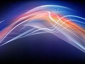 Avanço de ondas de fractal — Foto Stock