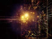 Way of Fractal Realms — Stock Photo