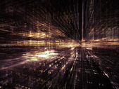 Shining city — Stockfoto
