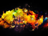 Nebula Design — Stock Photo