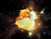 Virtual Orion nebula — Stok fotoğraf