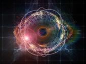Partícula de ojo — Foto de Stock