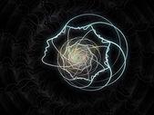 Reinos de la geometría del alma — Foto de Stock