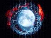 Moon Rhymes — Stock Photo