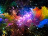 Nebula Visualization — Stock Photo