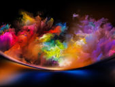 Acceleration of Colors — Stock Photo