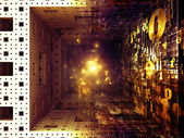 フラクタルのレルムの魔法 — ストック写真