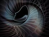 Versehentliche seele geometrie — Stockfoto