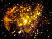 Nebula Landscape — Foto Stock