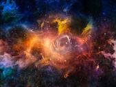 Space Composition — Stok fotoğraf