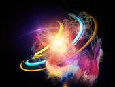 Energy of Design Element — Stock Photo
