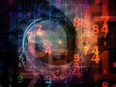 Nummers van de geest — Stockfoto