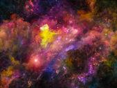 星云传播 — 图库照片