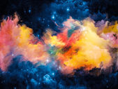 Evolving Nebula — Stock Photo