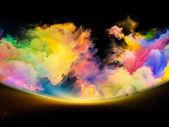 Advance of Colors — Stock Photo