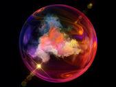 Unfolding of Elements — Stock Photo