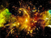 Nebula Abstraction — Stock Photo
