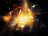 Virtual Ring Nebula — Stock Photo