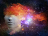 Nebula Girl — Foto de Stock