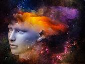 Colors of the Mind — ストック写真