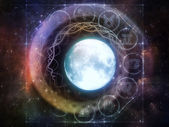 Realms of the Moon — Stock Photo