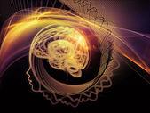 Digital Paradigms of the Mind — Stock Photo