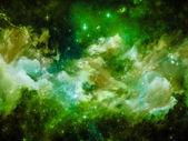 Energy of Nebula — Stock Photo